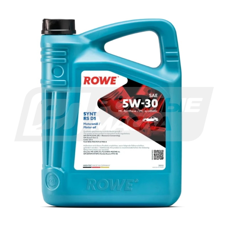 ROWE HIGHTEC SYNT RS D1 5W30, 5л 20212-0050